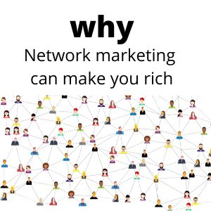Why online network marketing can make you rich