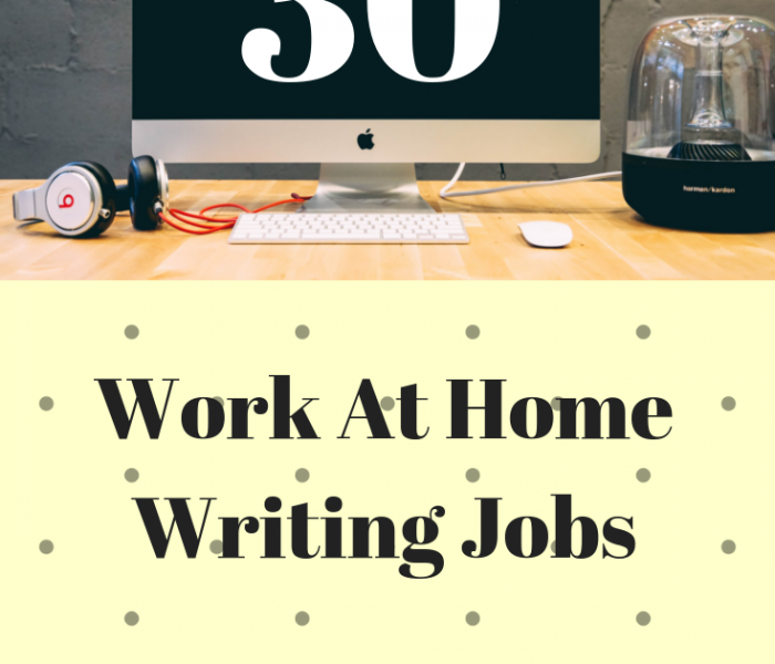 30 Writing work at home Jobs revealed