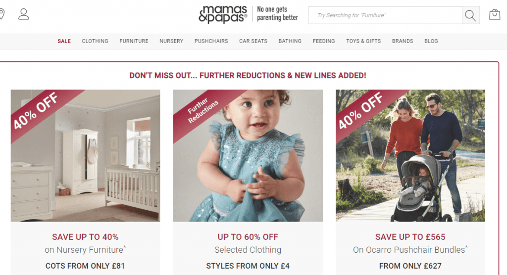 baby products online shopping sites uk