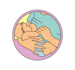 infant feeding position