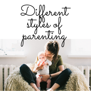 The different types of parenting styles